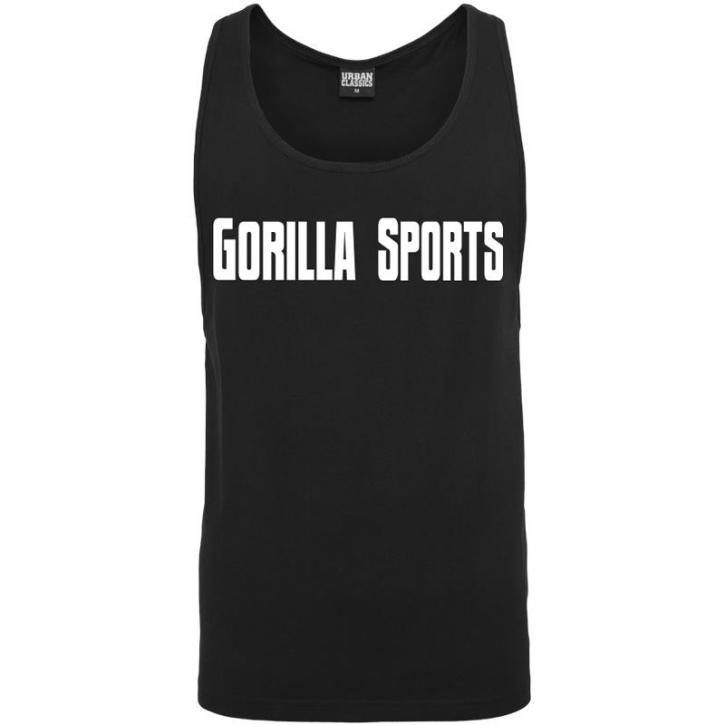 Gorilla Sports Tank Top noir – GORILLA SPORTS - L