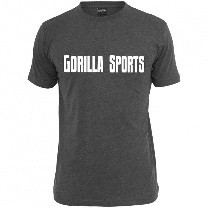 Gorilla Sports T-Shirt charcoal – GORILLA SPORTS - L