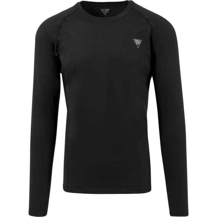 Gorilla Sports T-Shirt Fitness Technique Manches Longues S