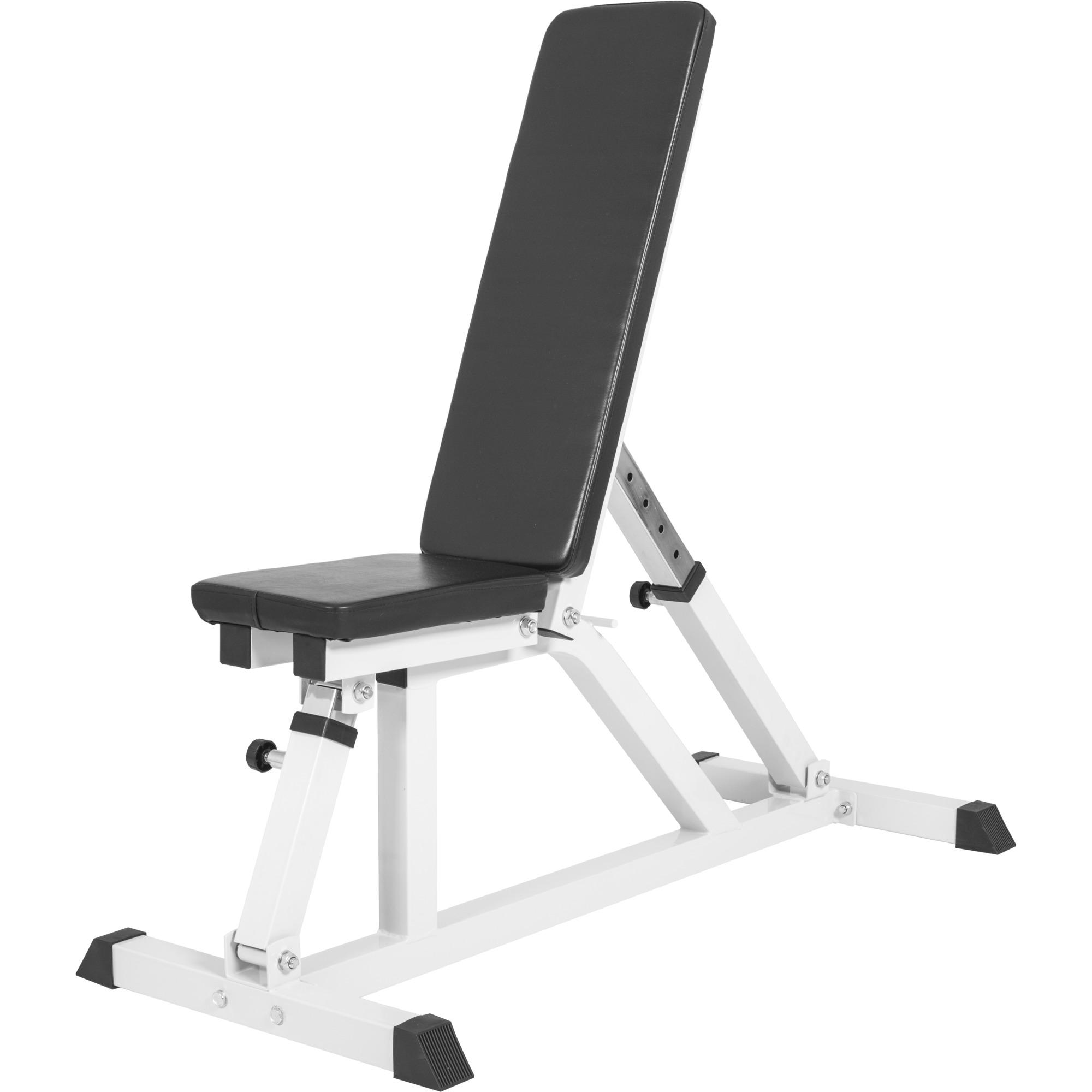 banc de musculation multipositions blanc gs004 adjustablebenchbm 519. Black Bedroom Furniture Sets. Home Design Ideas