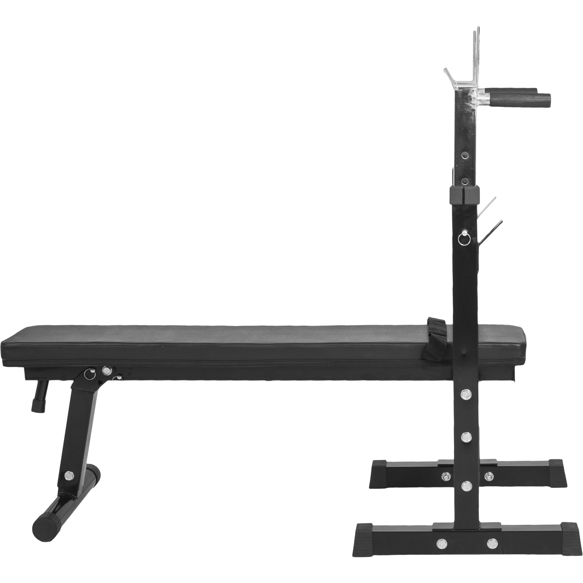 banc de musculation avec support de barres gs006 noir press benchbm 222. Black Bedroom Furniture Sets. Home Design Ideas