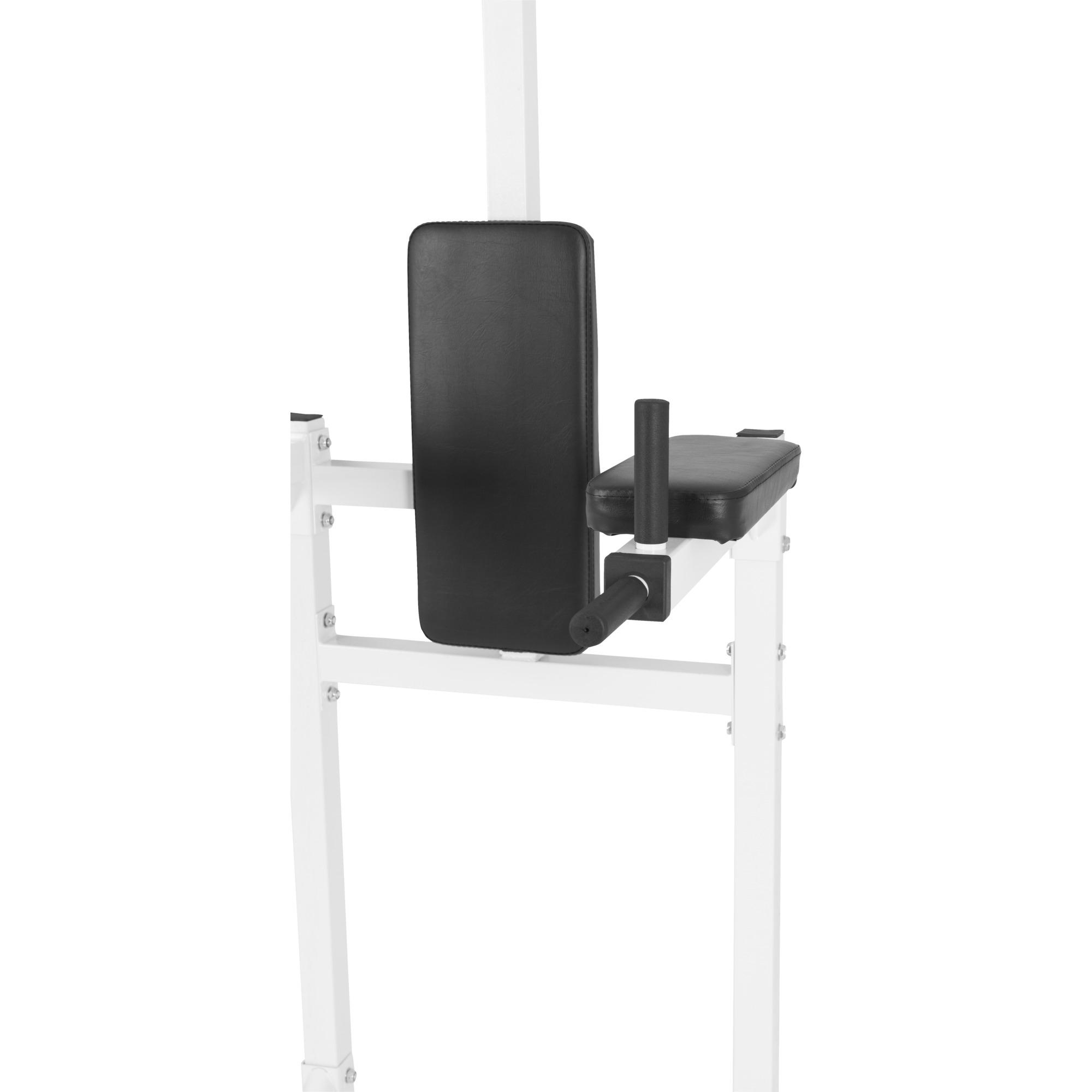 gorilla sports station pour tractions chaise romaine noir ou blanc ebay. Black Bedroom Furniture Sets. Home Design Ideas