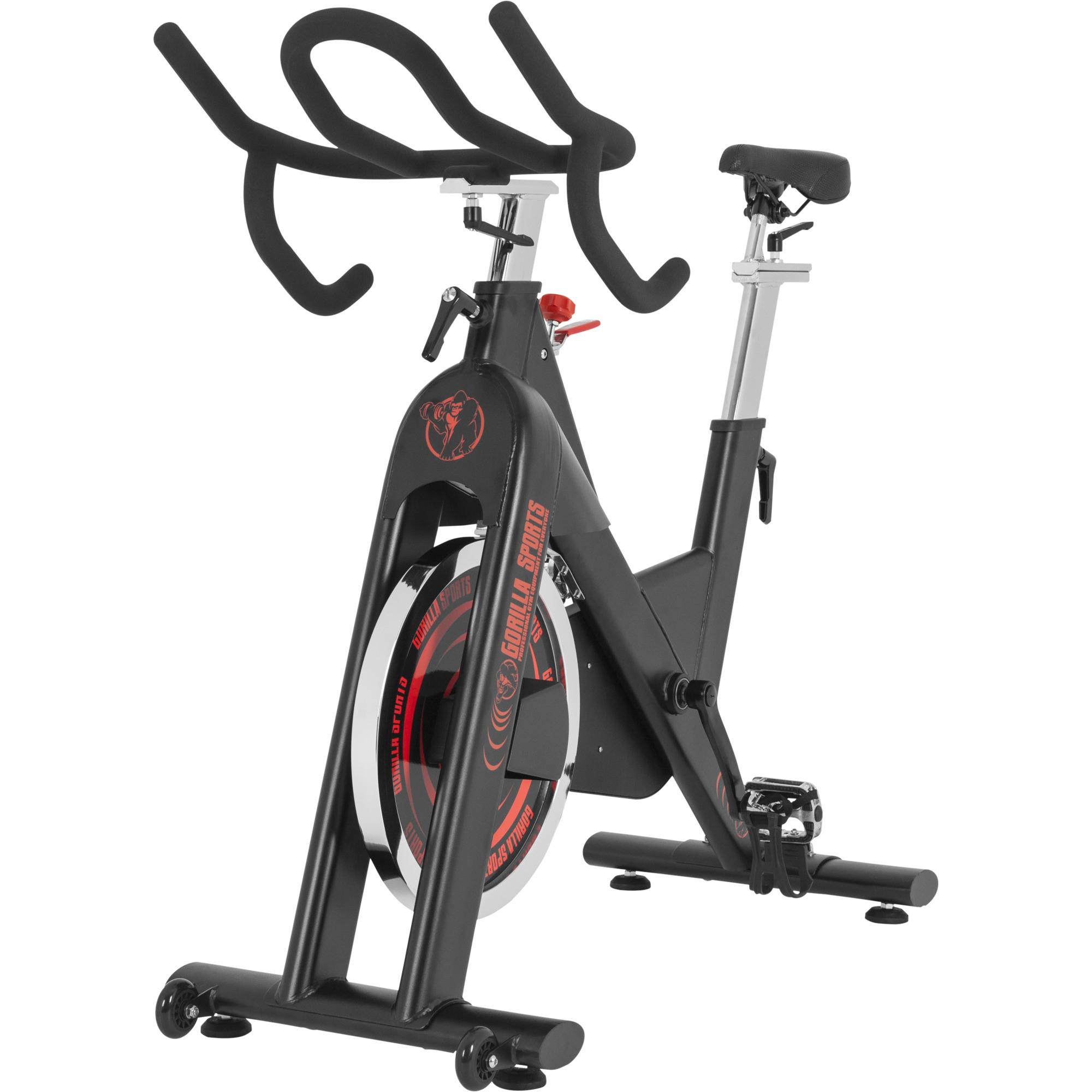 v lo d 39 appartement gorilla sports indoor cycling bike 10000619. Black Bedroom Furniture Sets. Home Design Ideas