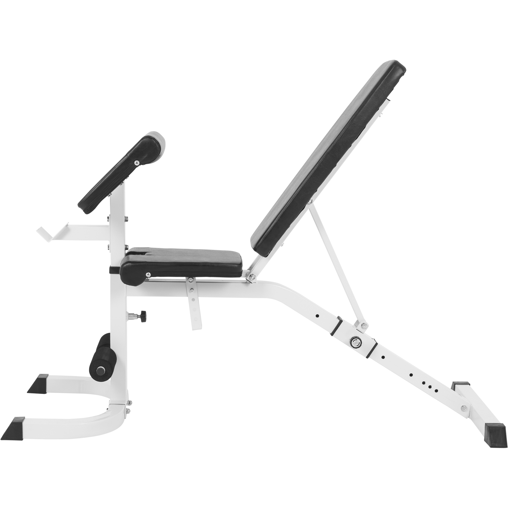 banc de musculation r glable inclin d clin avec pupitre biceps 10000770. Black Bedroom Furniture Sets. Home Design Ideas