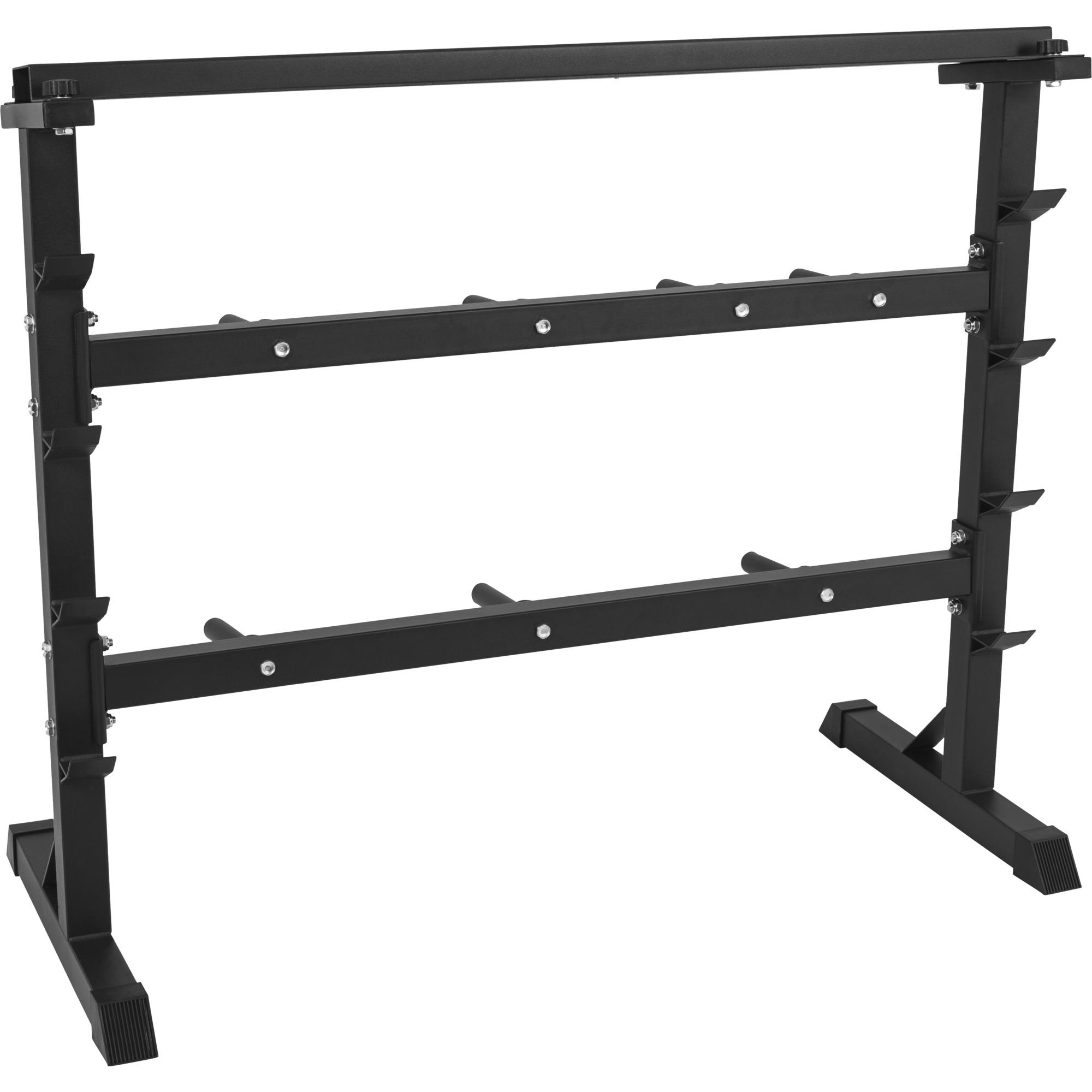 rack de rangement pour poids et halt res 30 31mm noir. Black Bedroom Furniture Sets. Home Design Ideas