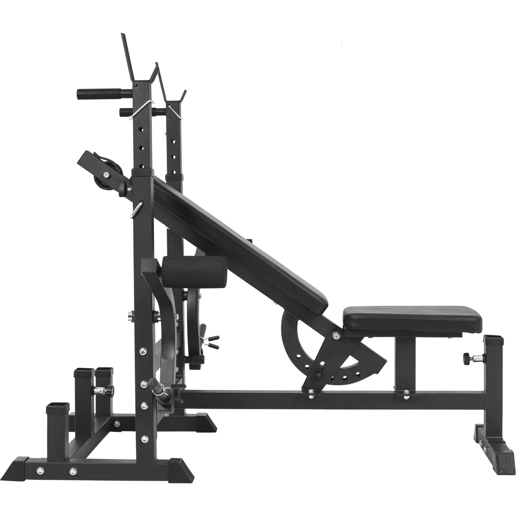 Gorilla Sports Banc De Musculation Universel Avec Support Pour