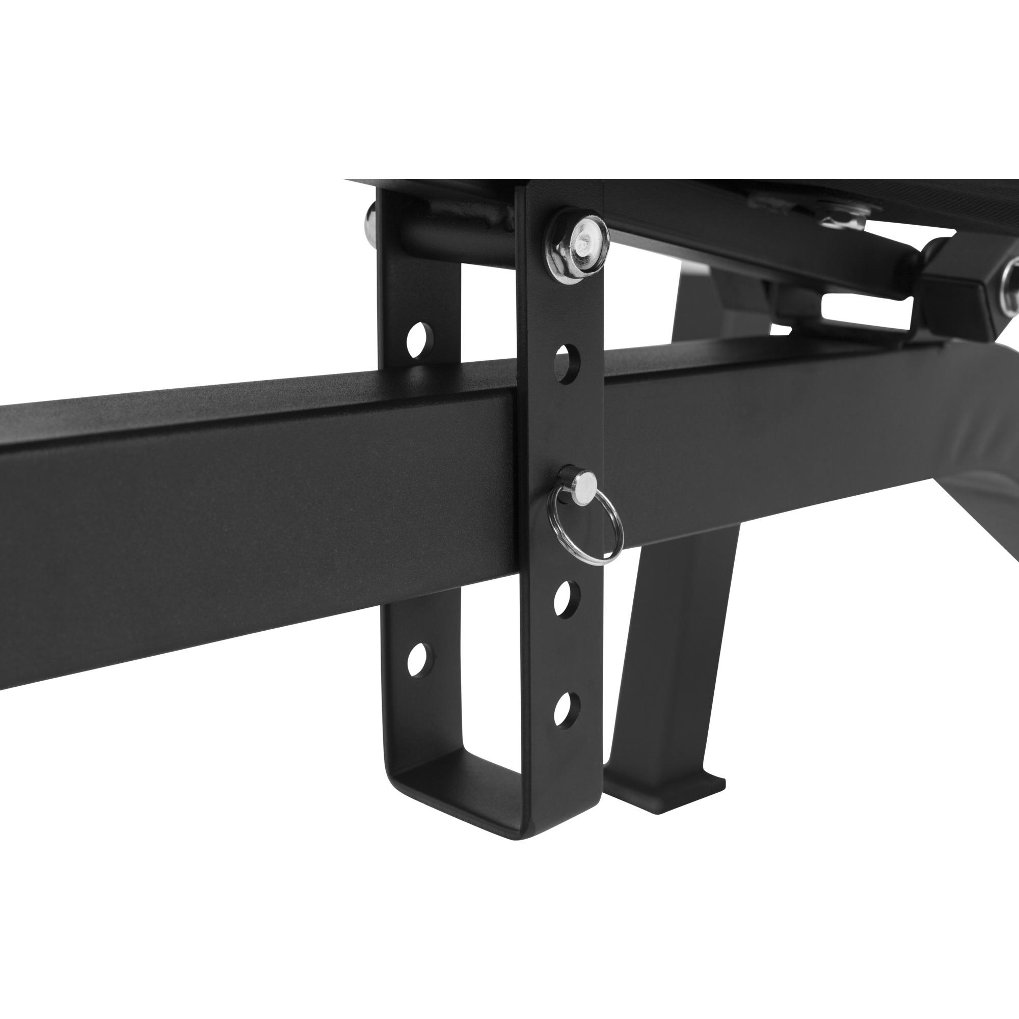 gorilla sports banc de musculation avec repose barre s par noir ou blanc ebay. Black Bedroom Furniture Sets. Home Design Ideas