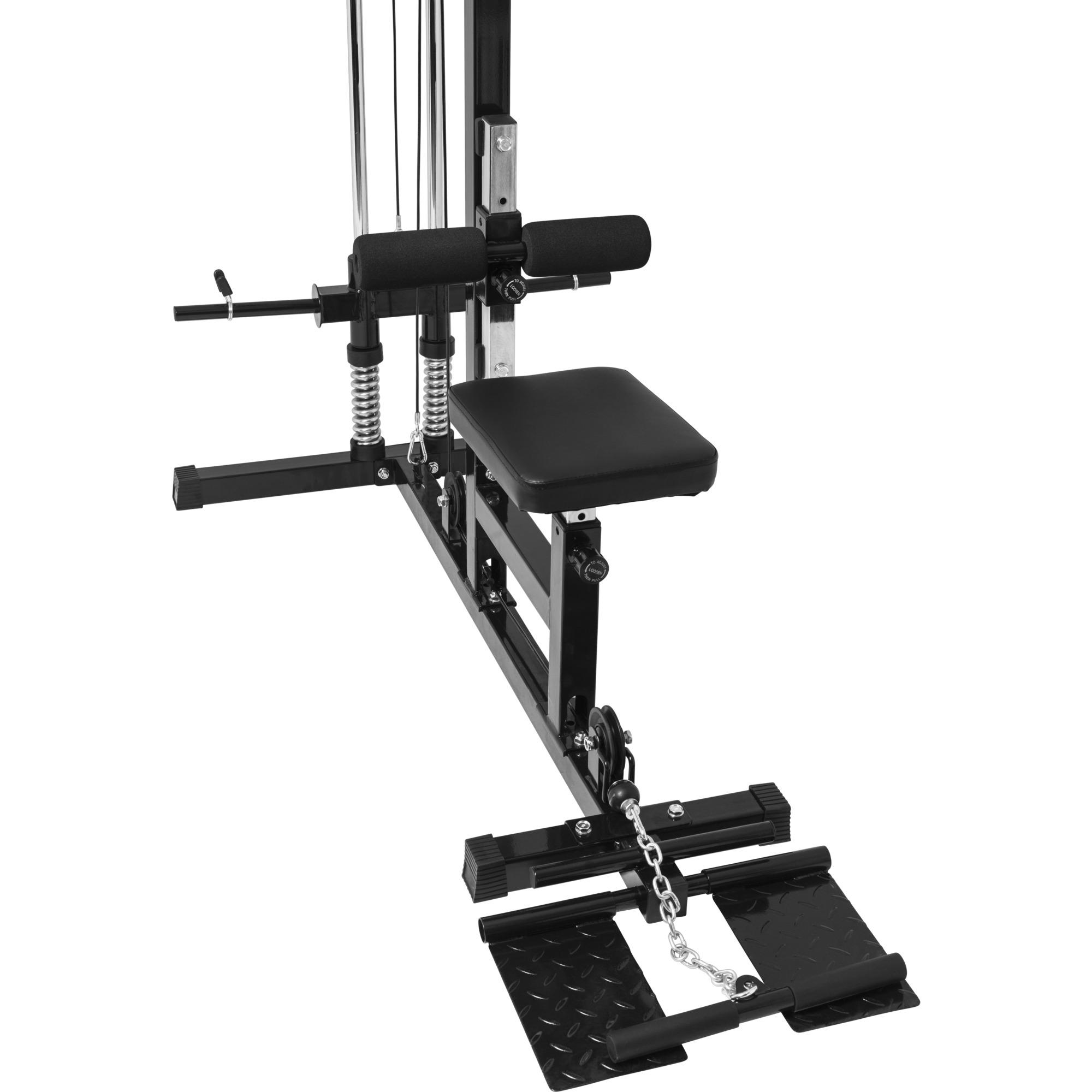 station de traction poulie haute charge guid e amortie. Black Bedroom Furniture Sets. Home Design Ideas